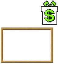 Magnetická bílá tabule 40 x 30 cm s dřevěným rámem, malá popisovatelná lakovaná stíratelná stírací popisovací nástěnka (50 cm)