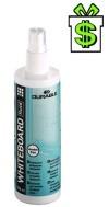Čistící sprej na bílé tabule 250 ml (magnetické nástěnky roztok spray white board cleaner bílou tabuli magnetickou nástěnku)