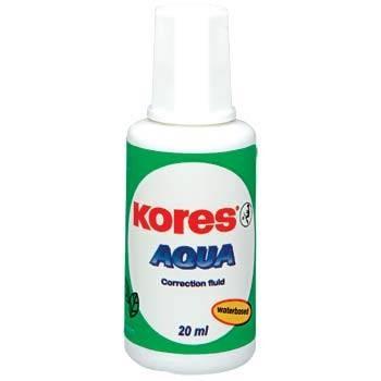 Opravný lak Kores Aqua štěteček 20 ml
