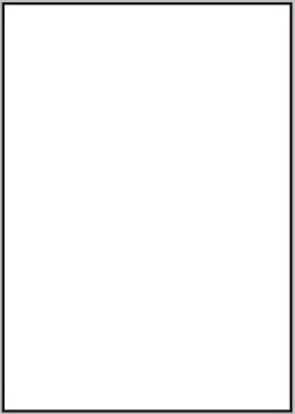 Etikety 1ks na archu A4, 210 x 297 mm, 100 listů