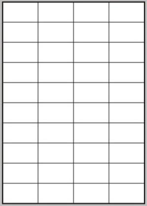 Etikety 40ks na archu A4, 52.5 x 29.7 mm, 100 listů