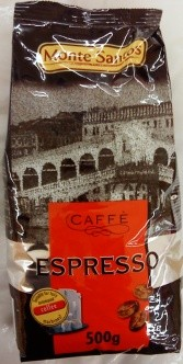 Zrnková káva Monte Santos 500 g (zrnkové kafe, zrno)