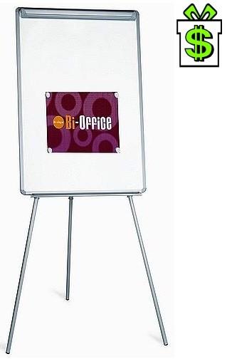 Flipchart Easy, Áčko s plastovým rámem, tabule 100 x 70 cm, Ačko flip-chart magnetický popisovatelný, A-čko flip chart