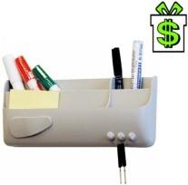 Magnetická přihrádka Smart Box kapsa na popisovače a fixy, tabule, flipchart, tabuli, magnetický držák, smartbox